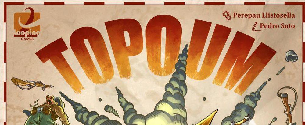 Topoum Curiosa Propuesta De Juego De Mesa Sobre Guerra De Topos